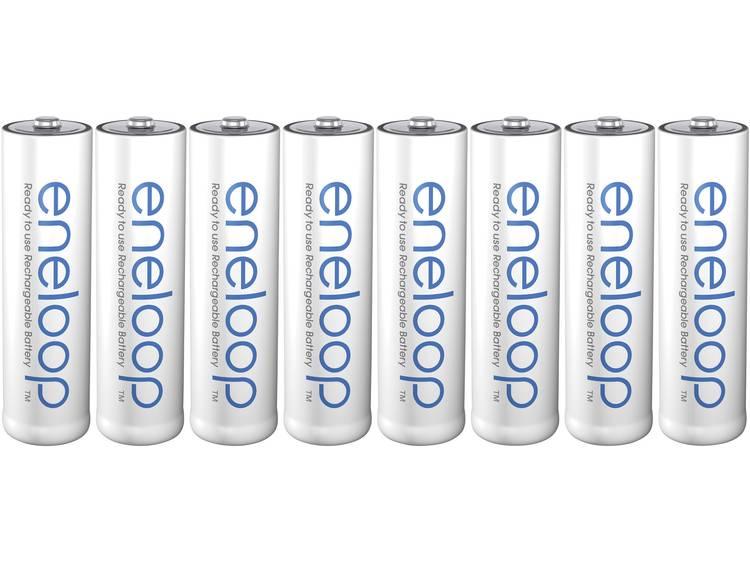 Panasonic eneloop HR06 AA oplaadbare batterij (penlite) NiMH 1.2 V 1900 mAh 8 stuks