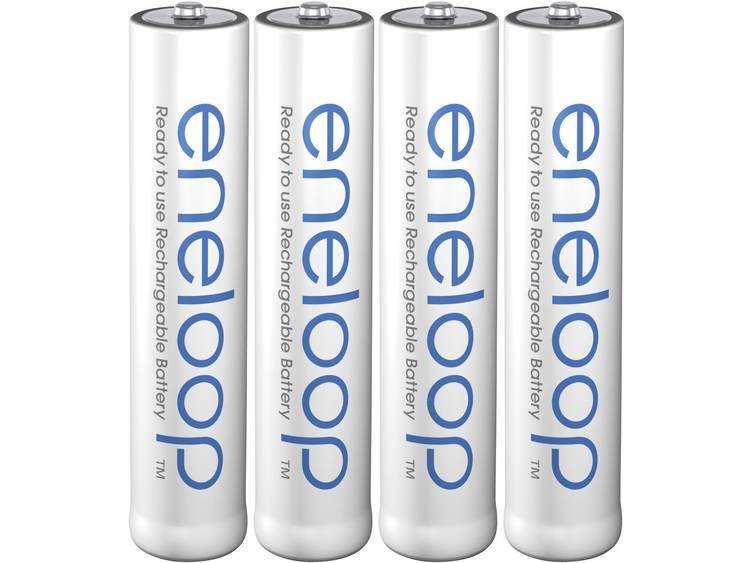 Oplaadbare AAA batterij (potlood) Panasonic eneloop HR03 NiMH 750 mAh 1.2 V 4 stuk(s)