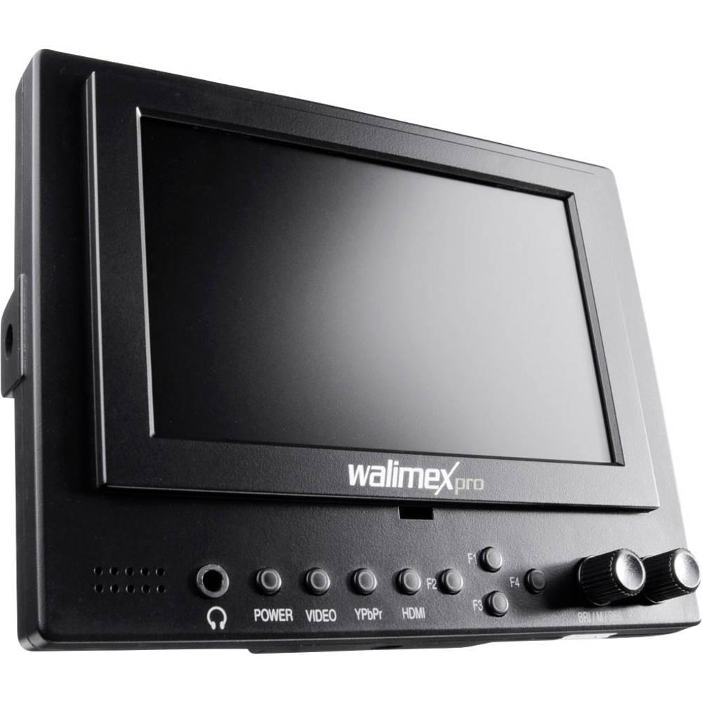 Walimex Pro Cineast I Videomonitor för DSLR 12.7 cm 5 tum HDMI, AV, YPbPr