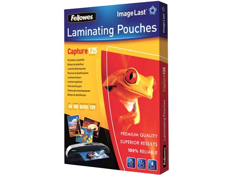 Lamineerfolie Fellowes DIN A5 125 micron glanzend 100 stuks