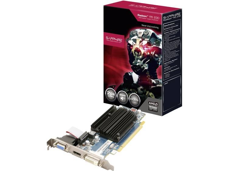 Videokaart Sapphire AMD Radeon R5 230 2 GB DDR3-RAM PCIe x16 HDMI, DVI, VGA