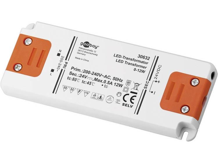 Transformator LED Verlichting Vermogen: 0 12 Watt