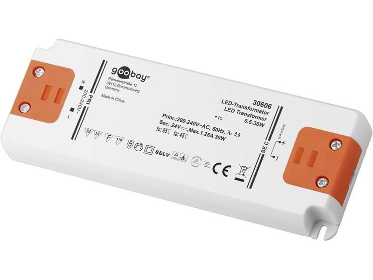 Transformator LED Verlichting Vermogen: 0.5 30 Watt