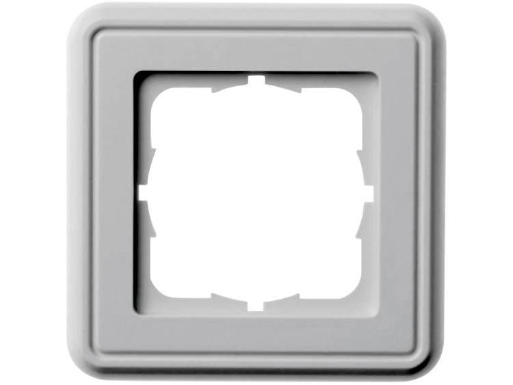 Frameplaat Enkelvoudig Telegärtner B00004A0021Y Alpine-wit