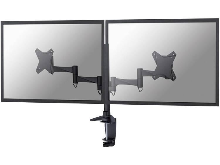 Monitor-tafelbeugel NewStar FPMA-D1330DBLACK 25,4 cm (10) - 68,6 cm (27) Kantelbaar en zwenkbaar, Roteerbaar 2-voudig