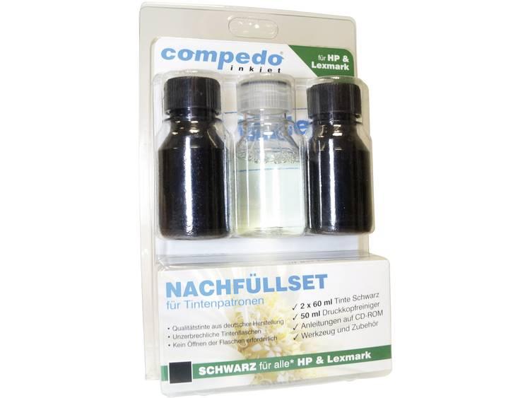 Compedo navulset HP/Lexmark zwart