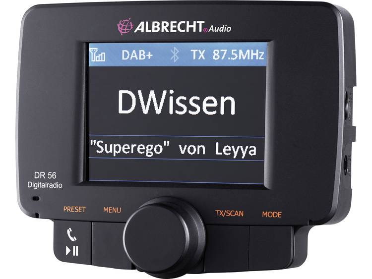 Albrecht DR-56 Albrecht DAB+ autoradio Adapter
