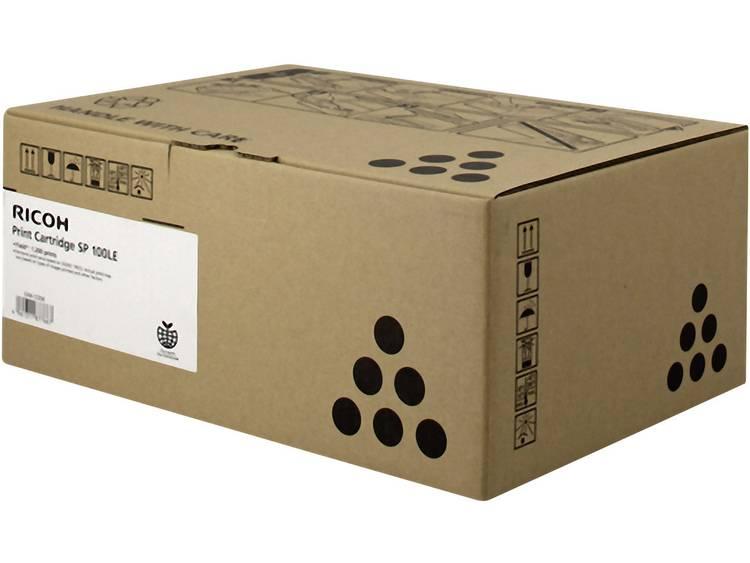Ricoh Tonercassette SP 100LE 407166 Origineel Zwart 1200 bladzijden