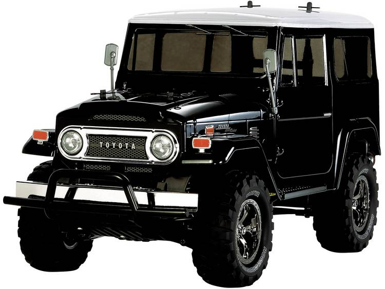 Tamiya Land Cruiser 40 Black Brushed 1:10 RC auto Elektro Monstertruck 4WD Bouwpakket