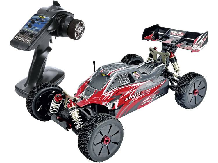Carson Virus 4.0 BL Brushless 1:8 RC auto Elektro Buggy 4WD RTR 2.4 GHz