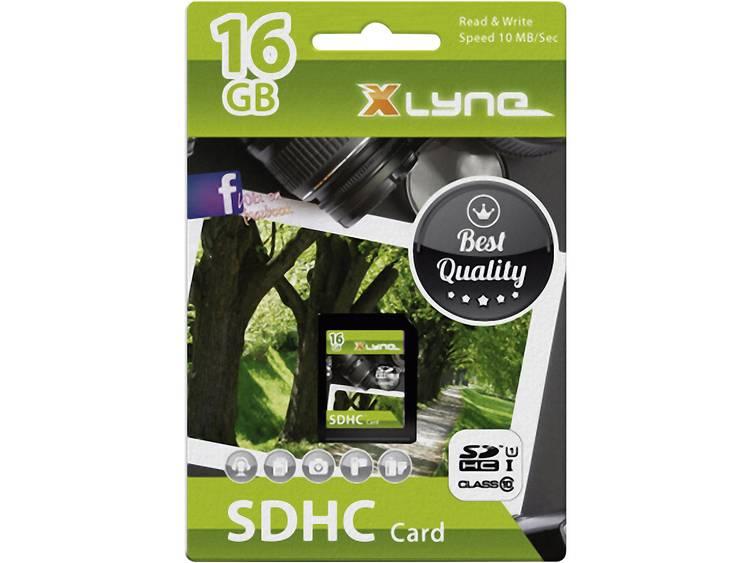 Xlyne 7316000 SDHC-kaart 16 GB Class 10, UHS-I
