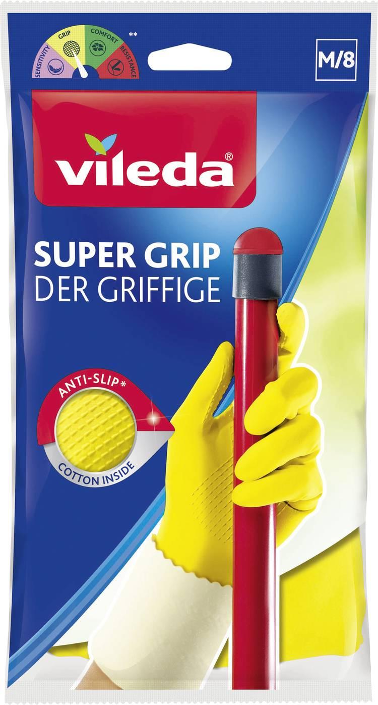 Rubberen handschoen Grippy   Universal Grip M 1 paar 1500460