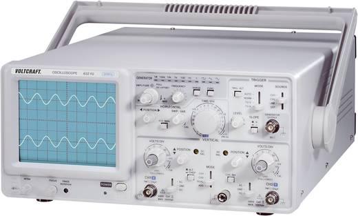 VOLTCRAFT 632 FG Analoge oscilloscoop 30 MHz 2-kanaals Functionele generator
