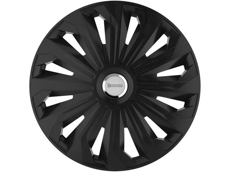 Michelin Enjoliveur Fabienne noir R13 Wieldoppen R13 Zwart (mat) 4 stuks