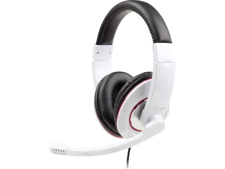 Gembird MHS-001-GW Stereo headset glossy white (MHS-001-GW)