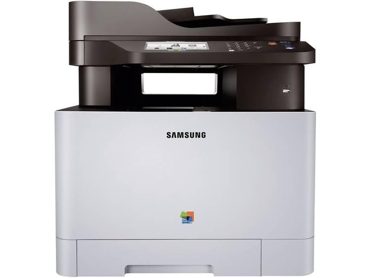 Multifunctionele kleurenlaserprinter Samsung Xpress C1860FW A4 Printen, Faxen, Kopiëren, Scannen LA