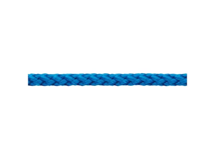 Polypropyleendraad gevlochten (à x l) 3 mm x 400 m dörner + helmer 190013 Blauw