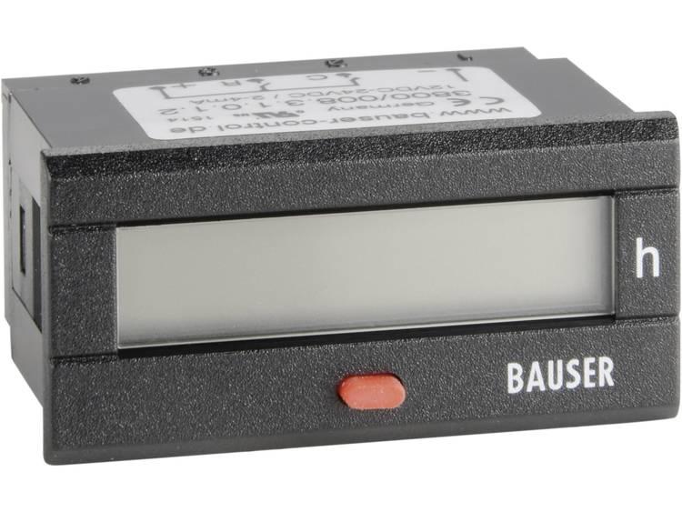 Bauser 3800.3.1.0.1.2 Digitale timer Inbouwmaten 45 x 22 mm