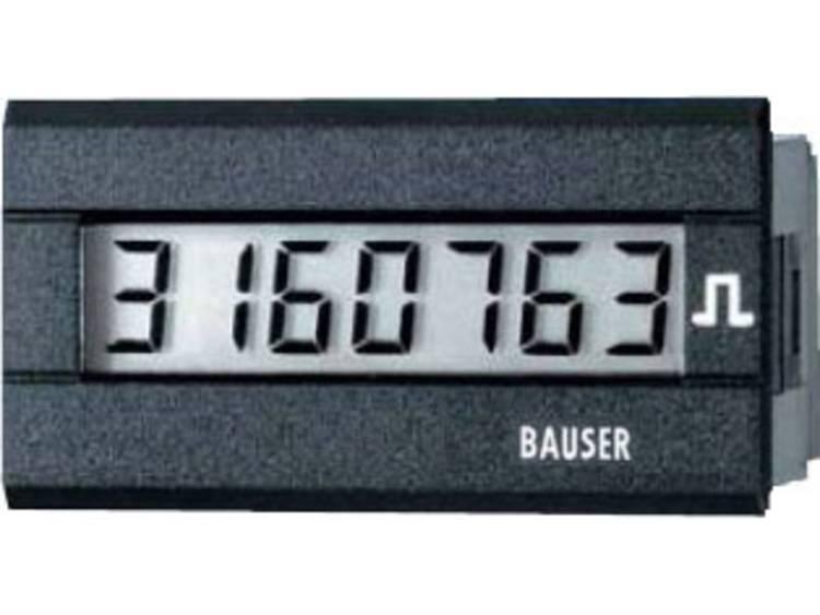 Bauser 3810.2.1.1.0.2 Digitale tijd  of impulsteller Nieuw! Twin oplossing Inb
