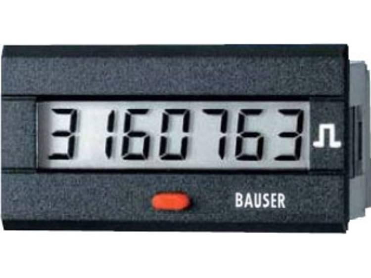 Bauser 3810.3.1.1.0.2 Digitale tijd  of impulsteller Nieuw! Twin oplossing Inb