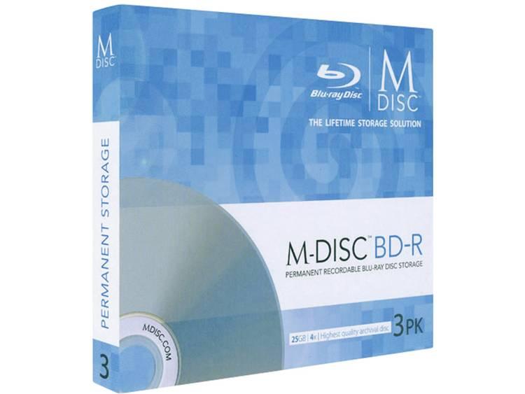 Millenniata MDBD003 M-Disc Blu-ray 25 GB 3 stuks Slimcase