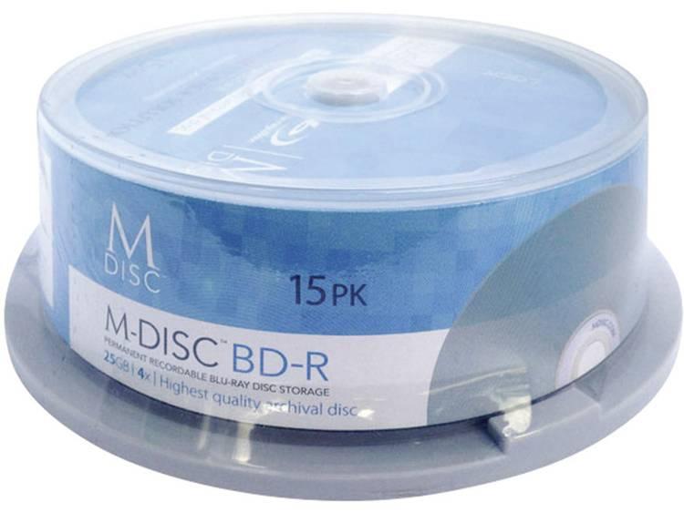 Millenniata MDBD015 M-Disc Blu-ray 25 GB 15 stuks Spindel
