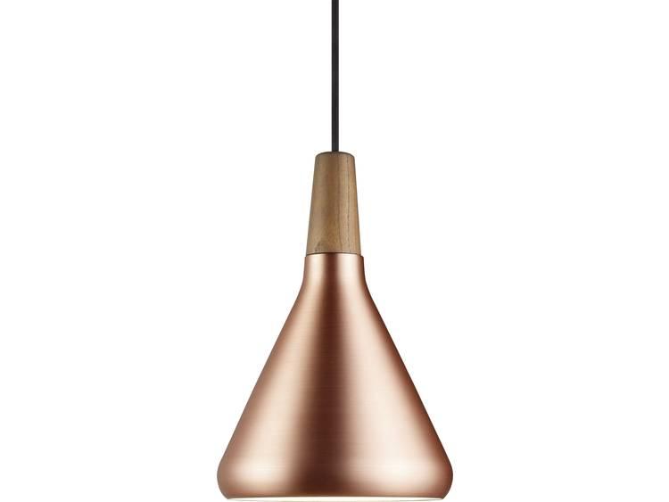energie A++, Hanglamp Float 18 bruin metaal 1 lichtbron, Nordlux