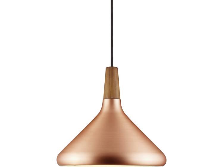energie A++, Hanglamp Float 27 bruin metaal 1 lichtbron, Nordlux