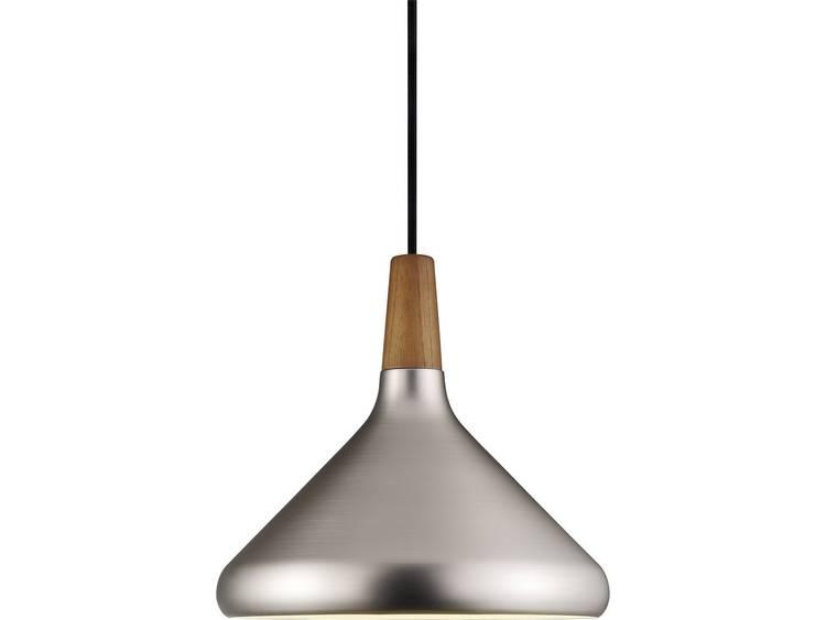 energie A++, Hanglamp Float 27 zilverkleurig metaal 1 lichtbron, Nordlux