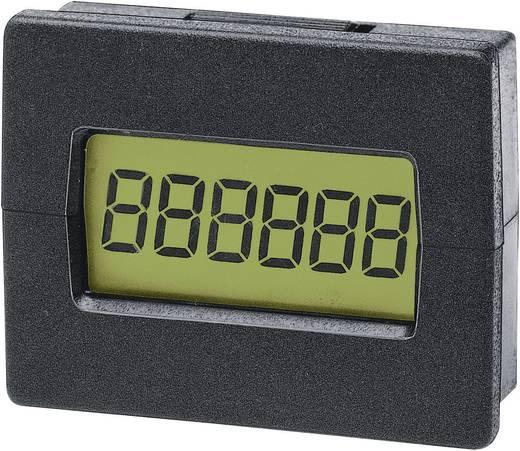 Trumeter LCD-teller met 6 posities 7016 Inbouwmaten 29.4 x 22 mm