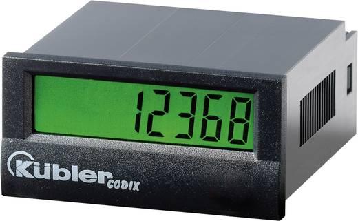 Kübler CODIX 136 LCD-Frequentiedisplay/tachometer Codix 136 Lithium batterij Inbouwmaten 45 x 22 mm