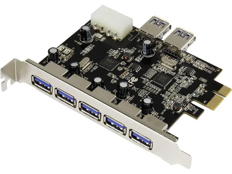 Renkforce USB 3.0 PCIe-kaart 5+2 poorten