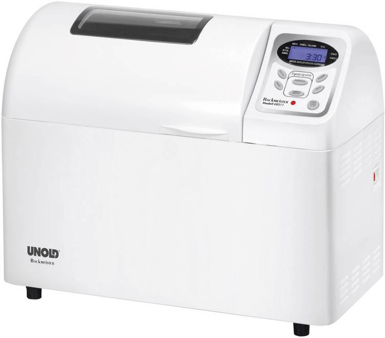Image of Unold Broodbakmachine Backmeister Extra Timerfunctie Wit