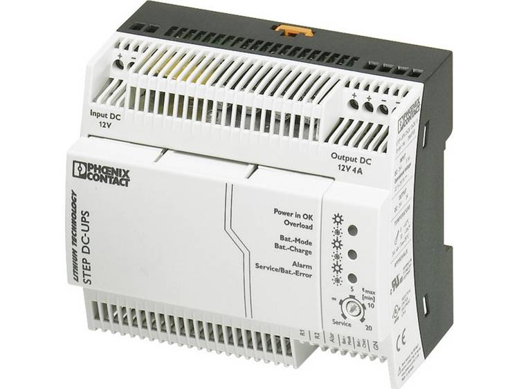 DIN rail UPS Phoenix Contact STEP UPS 12DC 12DC 4