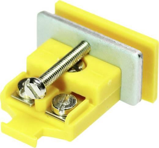B+B Thermo-Technik Miniatuur-koppelingsblik K-type geel NiCrNi 0.5 mm² Geel 1 stuks