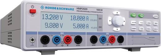 Rohde & Schwarz HMP2020 Labvoeding, regelbaar 0 - 32 V/DC 0 - 10 A 188 W USB, RS232 OVP, Programmeerbaar Aantal uitgange