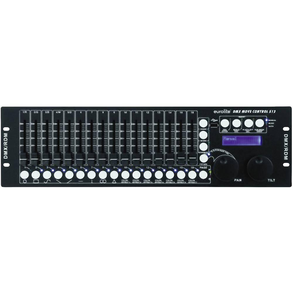 Eurolite DMX Move Control 512 DMX Controller 32 kanaler 19-konstruktion