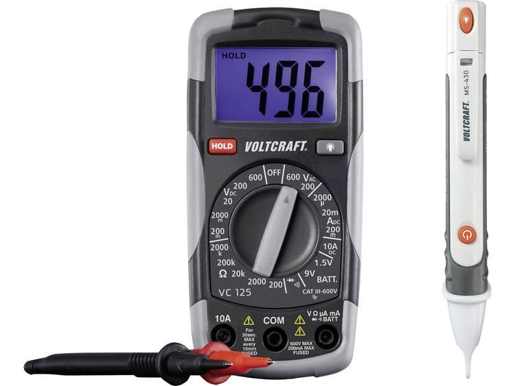 VOLTCRAFT DT TEST KIT 150 Multimeter Kalibratie Fabrieksstandaard zonder certi