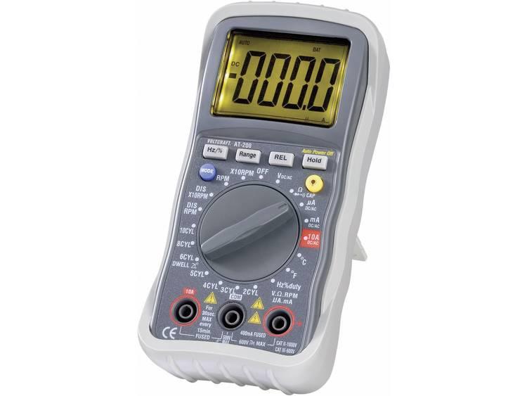 VOLTCRAFT AT 200 Multimeter Digitaal Kalibratie conform Fabrieksstandaard zond