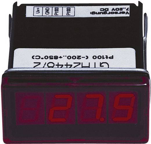 Greisinger GTH2448/3 LED-display GTH 2448/3 Pt100, 2-aders -60 tot +199.9 °C Inbouwmaten 45 x 22 mm