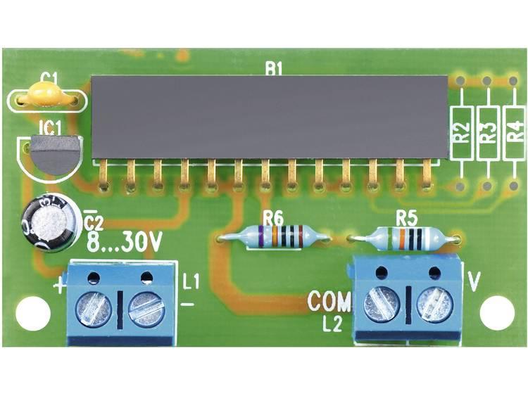 VOLTCRAFT meetbereikadapter voor panelmeter 70004, 20 V (10 mV 19,99 V)
