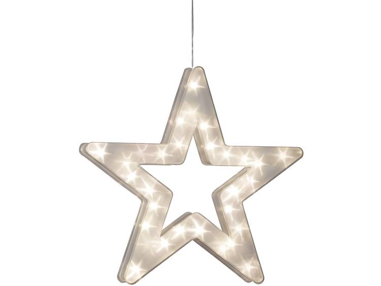 LED-sfeerlamp ster met sterreneffect
