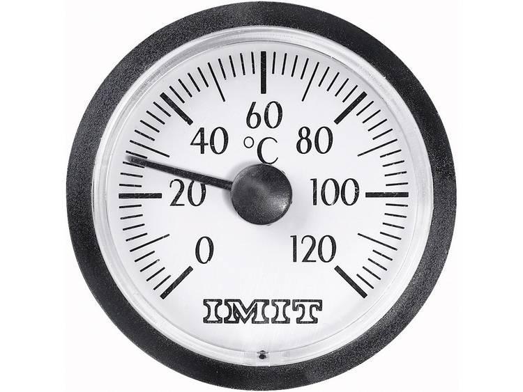 Capillaire inbouwthermometer klein Inbouwmaten Ø 38,5 mm