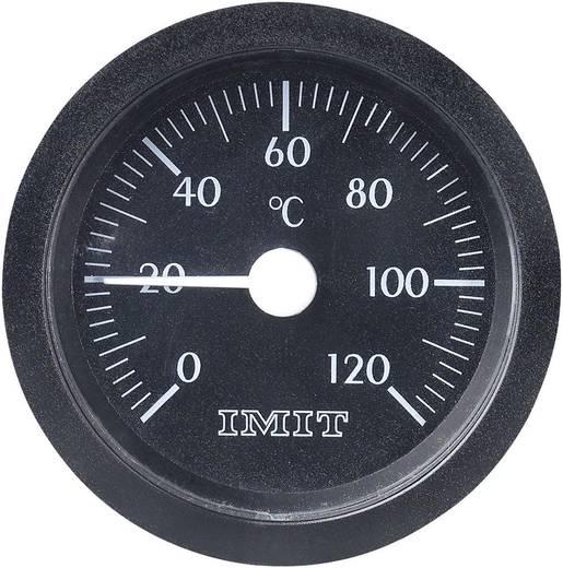100847 Capillaire inbouwthermometer groot 0 tot +120 °C Inbouwmaten Ø 52 mm Kalibratie conform: Fabrieksstandaard (zond