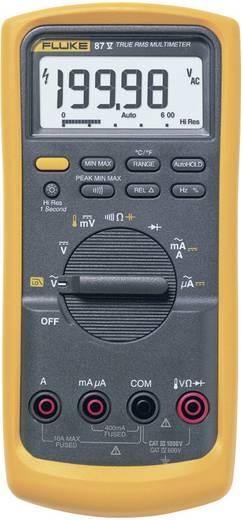 Fluke 87V/EUR Multimeter Digitaal Kalibratie: Zonder certificaat CAT III 1000 V, CAT IV 600 V Weergave (counts): 20000