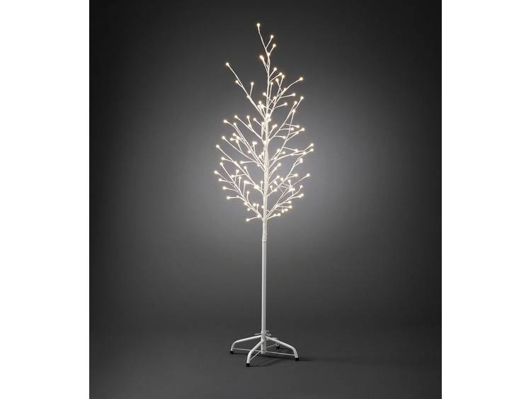 150 cm LED-lichtjesboom voor buiten wit 120-l.