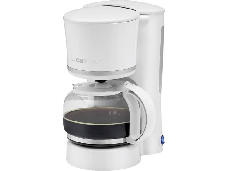 Clatronic 263640 Koffiemachine Wit, Zilver Capaciteit koppen: 8 Warmhoudfunctie