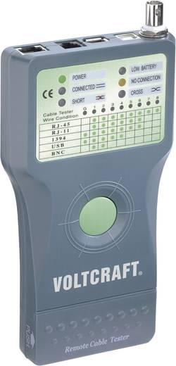 VOLTCRAFT CT-5 Geschikt voor RJ-45, BNC, RJ-11, IEE 1394, USB
