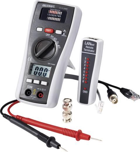 VOLTCRAFT CT-3 DMM kabeltester Geschikt voor BNC, RJ11 en RJ45