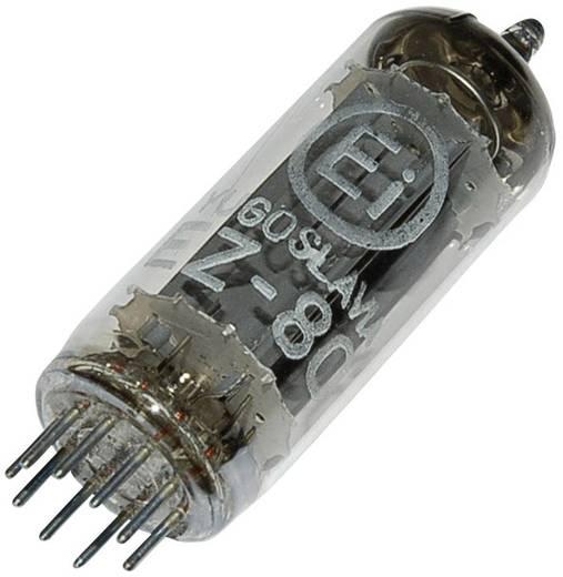 Elektronenbuis EZ 80 = 6 V 4 Dualgelijkrichter 250 V 90 mA Aantal polen: 9 Fitting: Noval Inhoud 1 stuks